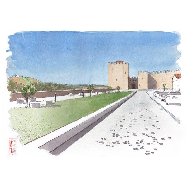 Parada do Castelo de Elvas
